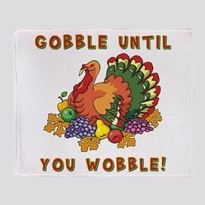 GOBBLE... Throw Blanket