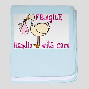 Fragile baby blanket
