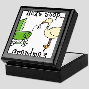 Next Stop Grandmas Keepsake Box