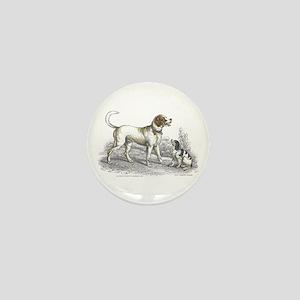Saint Bernard Dog Mini Button