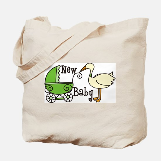 New Baby Tote Bag
