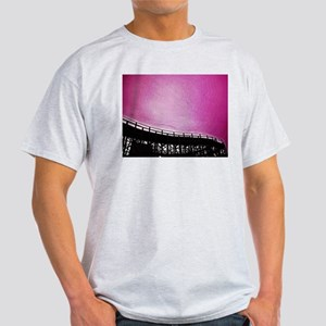 Roller Coaster in Pink Light T-Shirt