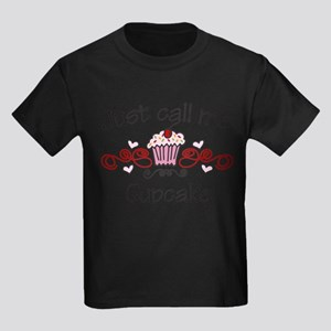 Just Call Me Cupcake Kids Dark T-Shirt