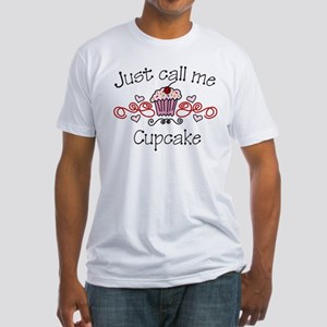 Just Call Me Cupcake Fitted T-Shirt