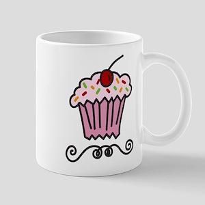 Pink Cupcake Mug