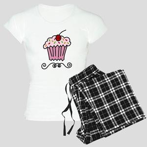 Pink Cupcake Women's Light Pajamas