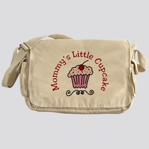 Mommys Little Cupcake Messenger Bag