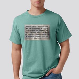 John 5:24 Mens Comfort Colors Shirt