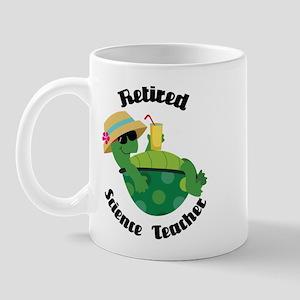 Retired Science Teacher Gift Mug