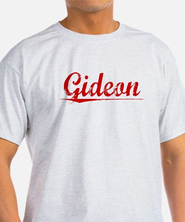 Gideon, Vintage Red T-Shirt