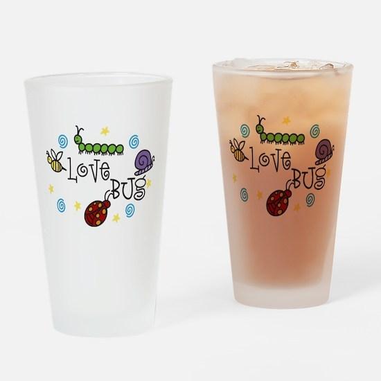 Love Bug Drinking Glass