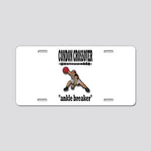 CONDON CROSSOVER-ankle breaker Aluminum License Pl