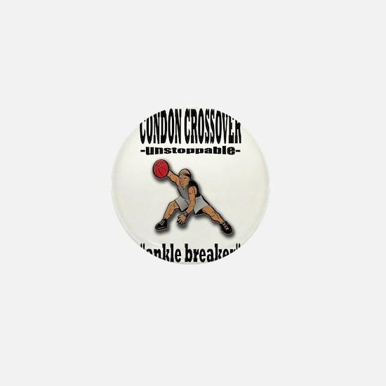 CONDON CROSSOVER-ankle breaker Mini Button