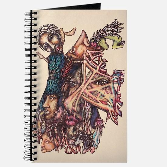 Hidden Images Melting Together-Journal