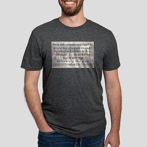 Joshua 1:9 Mens Tri-blend T-Shirt