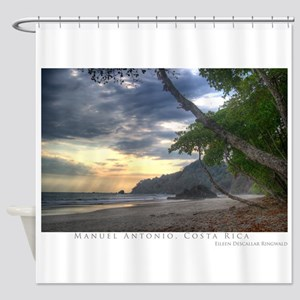 Manuel Antonio Beach Shower Curtain