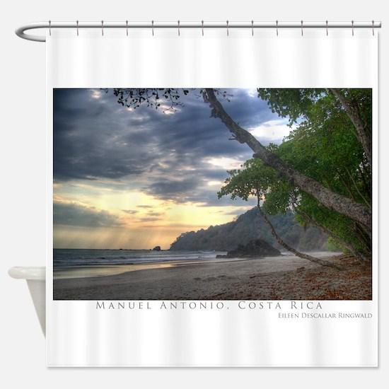 Manuel Antonio Beach Shower Curtain