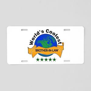 World's Coolest Aluminum License Plate