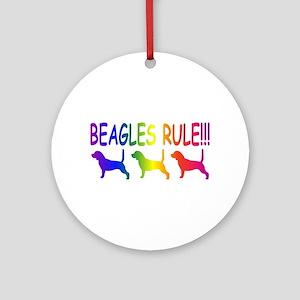 Beagles Ornament (Round)
