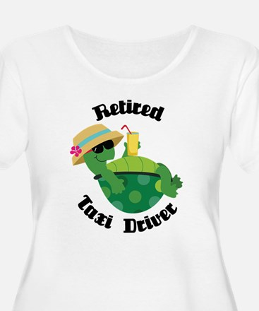 Retired Taxi Driver Gift T-Shirt