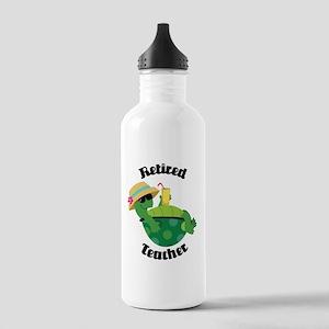 Retired Teacher Gift Stainless Water Bottle 1.0L