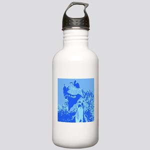 Dinosaur T-Rex Pop Art Stainless Water Bottle 1.0L