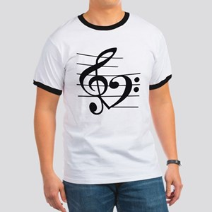 Music heart Ringer T