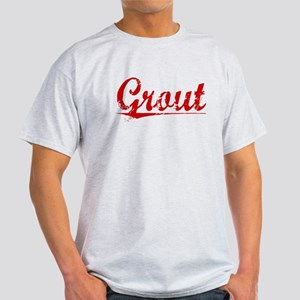 Grout, Vintage Red Light T-Shirt