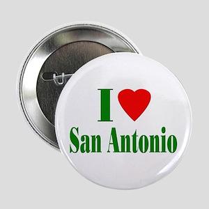 "I Love San Antonio 2.25"" Button (100 pack)"