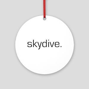 Skydive Ornament (Round)