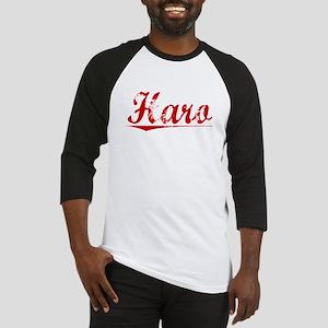 Haro, Vintage Red Baseball Jersey
