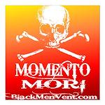 Momento Mori Square Car Magnet 3