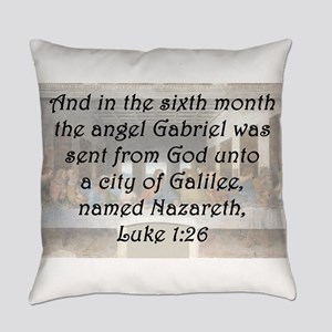 Luke 1:26 Everyday Pillow