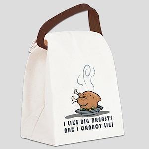 BIG BREASTS Canvas Lunch Bag