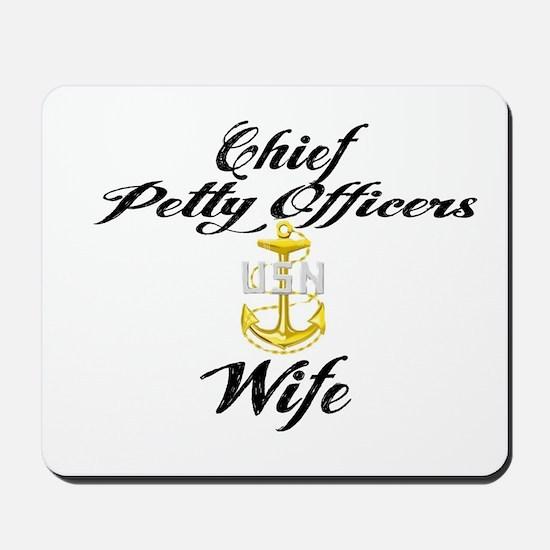 CPO Wife Mousepad