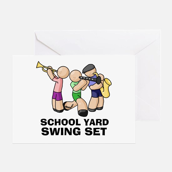 Swing Set Greeting Card