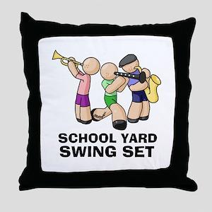 Swing Set Throw Pillow