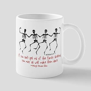 Family Skeletons Mug