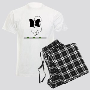 Black Papillon Men's Light Pajamas