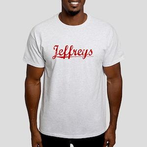Jeffreys, Vintage Red Light T-Shirt