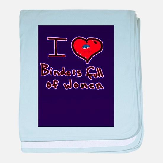 i love binders full of women Mitt Romney baby blan