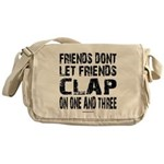 One and Three Messenger Bag
