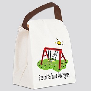 proudtobeaswinger,boy Canvas Lunch Bag