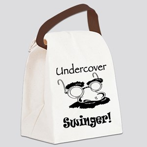 undercover-swinger Canvas Lunch Bag