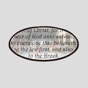 Romans 1:16 Patch