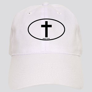 Cross Oval Cap