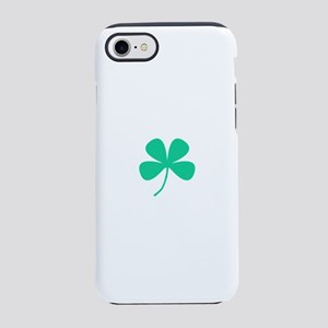 Green Irish Shamrock Rocker 4K iPhone 7 Tough Case