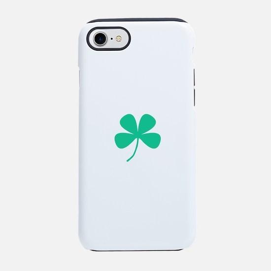 Green Irish Shamrock Rocker 4K iPhone 7 Tough Case