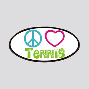 Peace Love Tennis Patches