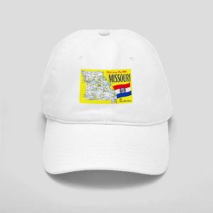 Missouri Map Greetings Cap